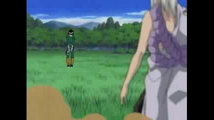 Naruto - Rock Lee Vs Kimimaru Amv
