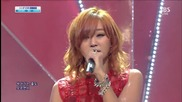 131208 Hyorin ( Sistar ) - One Way Love @ Inkigayo