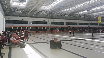 Turkey: Stranded Thomas Cook passengers await travel updates at Antalya Airport