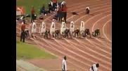 Световният рекорд на Usein Bolt [ 100 m. ]