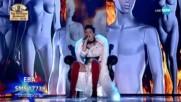 Ева обра овациите на съдиите с Russian Roulette - X Factor Live (10.12.2017)