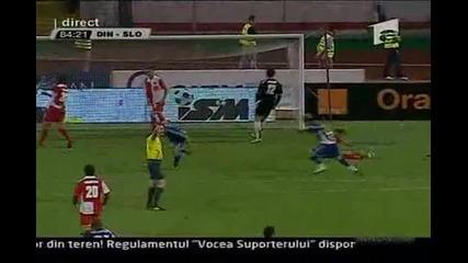 Лига Европа - Динамо Букурещ 0:2 Слован Либерец - прекратен