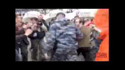 Cnn - Гей Парад В Москва Разбит От Нацисти