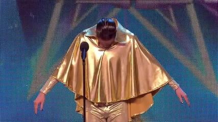 Най-бързото отрязване на участник 2! - Britain's Got Talent 2015