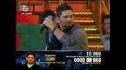 (28.04.09) Music Idol 3 - Изпълнението на Боян !!!