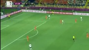 Холандия 1 - 2 Германия ( Мач от група Б на Евро 2012 )