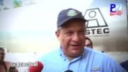 ЧИСТ ПРОТЕИН: Президентът на Коста Рика глътна оса