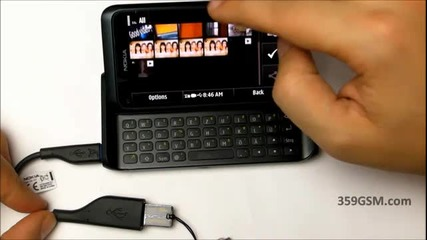 Nokia E7 - 00 video review - Usb On - The - Go