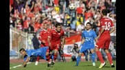 Аудио: Трите гола на Цска срещу Левски