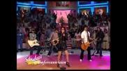 Dulce Maria canta Inevitable en Sabadazo 15 01 2011