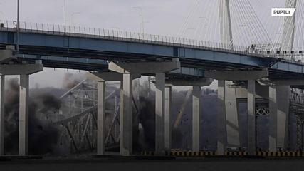 Tappan Zee Bridge demolished in big bang