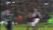 Уест Хем Юнайтед - Манчестър Сити 1:1 /Първо полувреме/