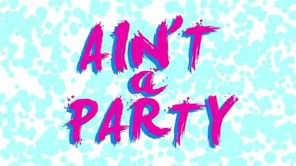 David Guetta - Ain't A Party feat. Glowinthedark & Harrison ( A U D I O )