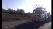 Пътна помощ- Автокомплекс Димитров -теглене на самосвал