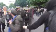 France: Riot police fire tear gas on labour reform protesters in Paris