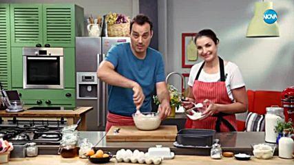 Сладкиш с крем сирене и кайсии - Бон Апети (10.07.2018)