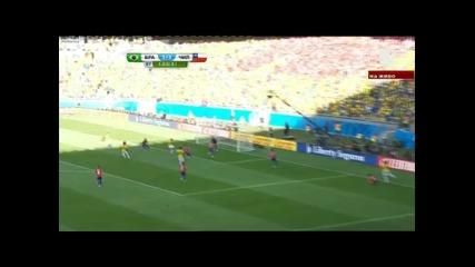 Бразилия - Чили 3:2 (1:1) след дузпи