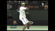 Roger Federer - Slowmotion Top Spin Forehand