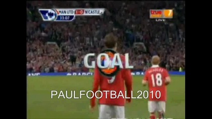 Manchester United - Newcastle 3 - 0 |16.08.2010|
