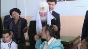Cuba: Patriarch Kirill brings gifts to special needs school in Havana