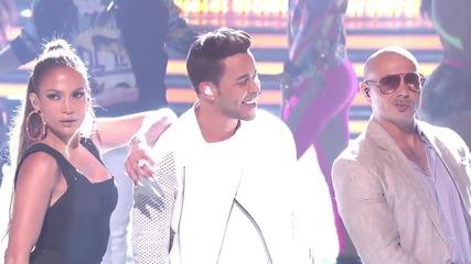 Prince Royce with Jennifer Lopez and Pitbull - Back it Up