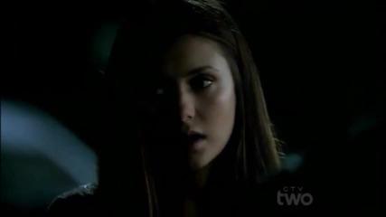 Много тъжна сцена! Елена казва на Стефан,че е целунала Деймън • Stefan & Elena •