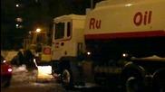 Снегорин изкърти противопожарен хидрант в Пловдив