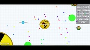 Agar.io (1421 score) (leaderboard) (7)