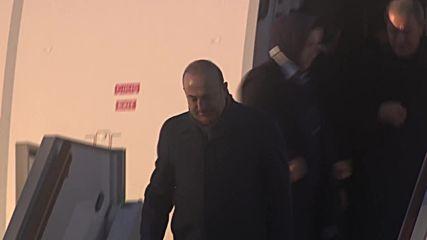 Russia: Erdogan arrives in Moscow ahead of Putin talks