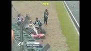 GP CHINA 2007 - Hamilton Out !