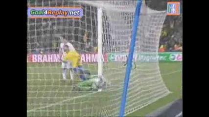 28.06.09 Сащ - Бразилия 2:3 победен гол на Лусио