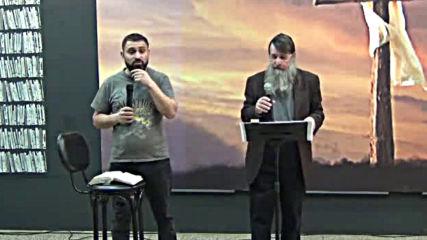 Пасхата на Исус Сесия 2 - Стийвън Хеджис