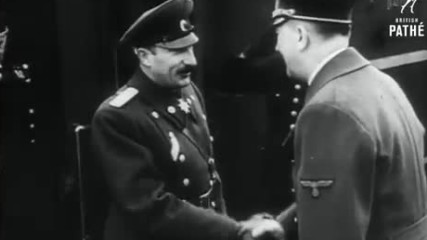 Внимание - Vip: Hitler And Goering Receive Foreign Vip To Germany During The War 1941