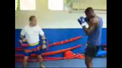 K - 1 Remy Bonjasky - Training