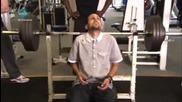 Динамо вдига 155 кг от лежанка - удивително