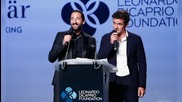 DiCaprio Charity, Kourtney Divorce Battle and James Franco Bar-Mitzvah