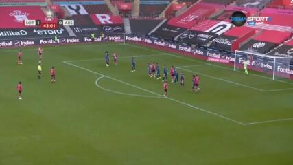 Саутхемптън - Арсенал 1:0 /репортаж/
