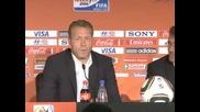 Льов пропусна пресконференцията преди мача с Англия