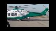 Три нови хеликоптера охраняват границите ни /видео/