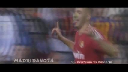 Реал Мадрид - топ 10 гола през 2011-2012