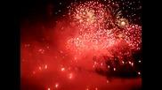 Новогодишни Фоерверки В Единбург!