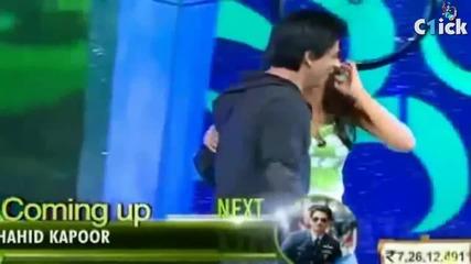 Ra.one - Shahrukh khan Dance on Chammak Challo Song - Akon - Leaked Dance Video - 2011