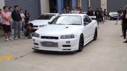Nissan Skyline Gtr R34 от ада
