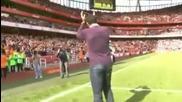 Анри, реакцията след жребия Арсенал - Барселона