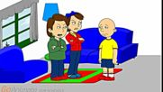 Caillou starts a fight in class and gets grounded