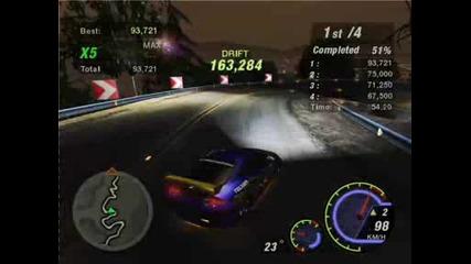 Nfs Underground 2 - Powerline drifting with Acura Rsx