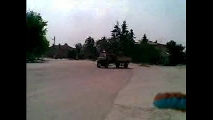 Drift s Kamion