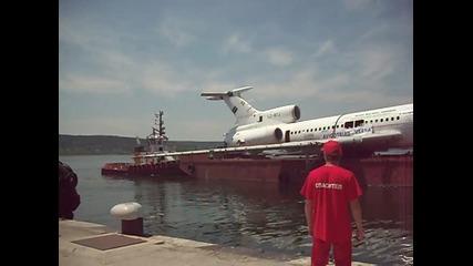 Самолетът На Бившият Първи