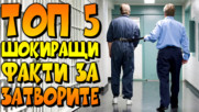 Топ 5 шокиращи факти за затворите по света!