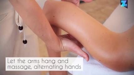 Следродилен масаж - ръце и длани